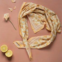 Louise Misha Large Scarf Heba Blush Flowers ルイーズミーシャ スカーフ Lサイズ(ブラッシュフラワー)