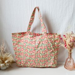 Louise Misha Tote Bag Beverly Pink Meadow ルイーズミーシャ トートバッグ(ピンクメドゥ)