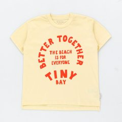 tinycottons BETTER TO-GETHER -GRAPHIC TEE lemonade/red  タイニーコットンズ ベタートゥギャザーグラフィック半袖Tシャツ(レモネード)