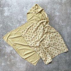 Rylee + Cru suns hooded towel butter ライリーアンドクルー 太陽柄フード付きタオル(バター)