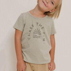Rylee + Cru chase the sun tee sage ライリーアンドクルー サングラフィック半袖Tシャツ(セージ)