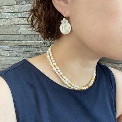 Nirrimis Kids Necklace Pearly Milk ニリミス キッズネックレス(パーリーミルク)