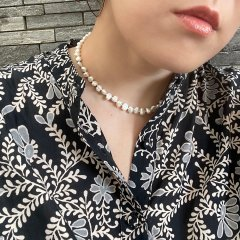 Nirrimis Kids Necklace Pearly White ニリミス キッズネックレス(パーリーホワイト)