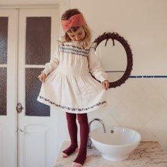 ★Louise Misha Dress Suzie Cream ルイーズミーシャ 長袖ワンピース(クリーム)
