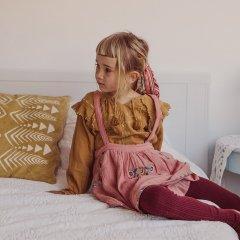 ★Louise Misha Baby Blouse Iris Caramel ルイーズミーシャ 長袖ブラウス(キャラメル)