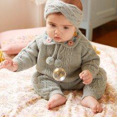 Louise Misha Baby Leggings Athedor Sauge ルイーズミーシャ ニットレギンス(セージ)