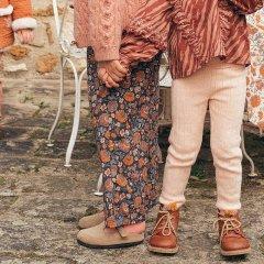 Louise Misha Baby Pants Flor Charcoal Bohemian Flowers ルイーズミーシャ ロングパンツ(チャコールボヘミアンフラワー)