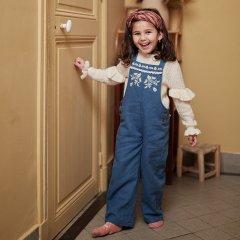 Louise Misha Baby Overalls Pakita Blue Denim ルイーズミーシャ オーバーオール(ブルーデニム)