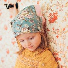 Louise Misha Scarf Capucine Blue French Flowers ルイーズミーシャ スカーフ(ブルーフレンチフラワー)