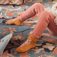 Louise Misha Baby Socks Chelie Mustard ルイーズミーシャ ソックス(マスタード)