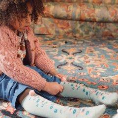 Louise Misha Baby Socks Chelie Sauge ルイーズミーシャ ソックス(セージ)