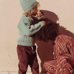 Louise Misha Baby Pants Abel Grape ルイーズミーシャ ロングパンツ(グレープ)
