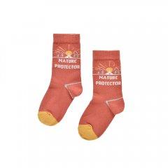 Louise Misha Baby Socks Chalo Terracota ルイーズミーシャ ソックス(テラコッタ)
