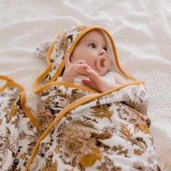 LUNA'S TREASURES GOLDIE BLOOMS hooded towel set ルナズ トレジャーズ フード付タオルセット(ゴールディブルームス)