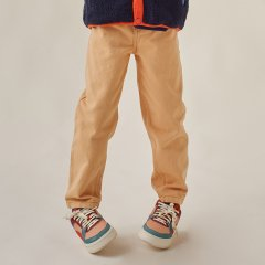 tinycottons SOLID BAGGY PANT toffee タイニーコットンズ バギーロングパンツ(トフィ)