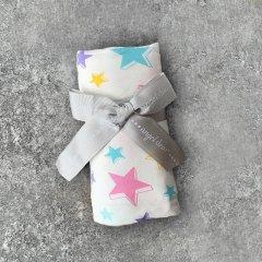 Angel Dear Dimensional Star Swaddle Blanket MULTI エンジェル ディア 星柄スワドルブランケット(マルチ)