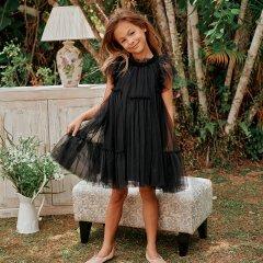 LOVE by Nellystella Baby Antoinette Dress (Black)  ラブバイネリーステラ アントワネットドレス(ブラック)