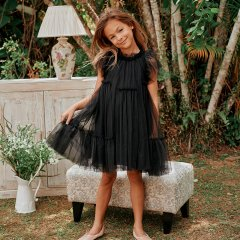 LOVE by Nellystella Antoinette Dress (Black)  ラブバイネリーステラ アントワネットドレス(ブラック)