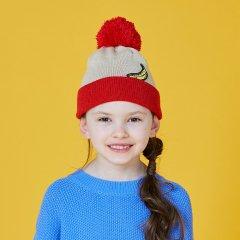 CA4LA & KIDS KIDS BANANA KNIT CAP カシラ アンド キッズ アンディウォーホルニットキャップ(レッド)