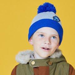 CA4LA & KIDS KIDS $ KNIT CAP カシラ アンド キッズ アンディウォーホルニットキャップ(ブルー)
