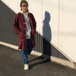 Panenka Uniform Supply WHYTE COAT BURGUNDY