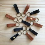 LEFTOVER(RHYTHMOS HANDCRAFTED LEATHERS)Key Ring