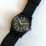 MWC Infantry Watch Black