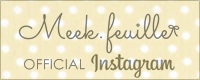 Meek.feuille OFFICIAL Instagram