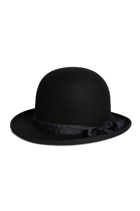 Rabbit Fur Bowler Hat 【KIJIMA TAKAYUKI】