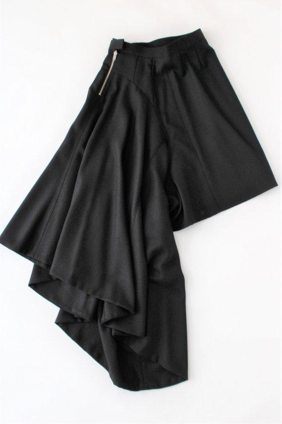 "GANRYU / <span style=""color:#ff0000""><b>50%OFF</b></span><br />ウールジョーゼットスカート"