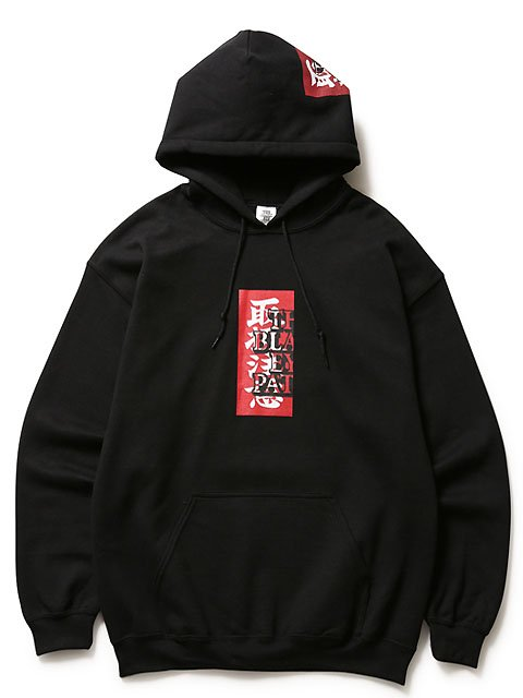 LABEL HOODED SWEATSHIRT