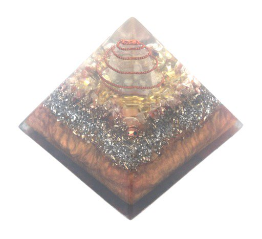 富への勇気 オルゴナイトピラミッド