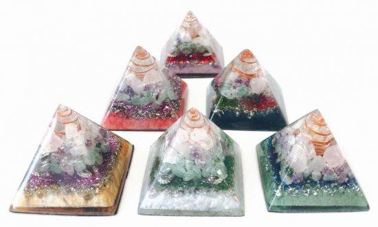 クリスタルピラミッドmini 愛と成幸 6種