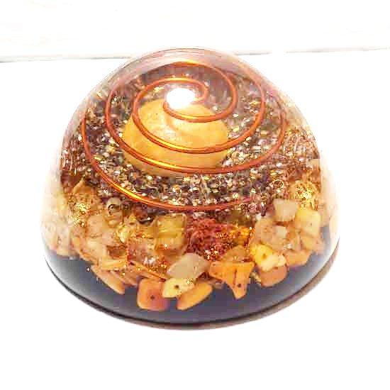 ゴールド・エッグ オルゴナイトドーム