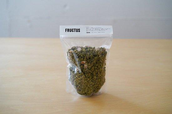 福岡のグラノーラ専門店「FRUCTUS」がすすむ屋の抹茶をタップリつかって作った【抹茶グラノーラ】