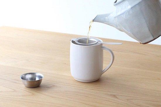 イギリスのティーストレーナー(茶漉し・茶こし) CINQ(サンク)
