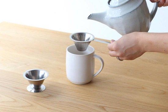 スウェーデン jonas(ヨナス)のティーストレーナー(茶漉し・茶こし)
