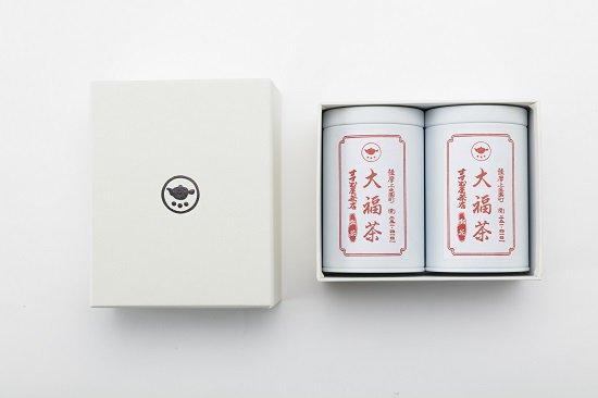 【大福茶】80g缶2本 お詰め合わせ