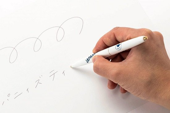 すすむ屋茶店 オリジナルボールペン(Bic社製)