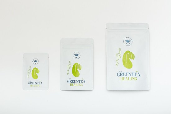 煎茶(緑茶)ティーバッグ<癒し>(煎茶 こくまろ使用)|(タグ付き・鹿児島茶・緑茶)