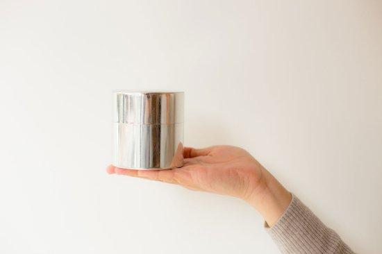 「syuro」シュロ茶缶【ブリキ】(茶筒)