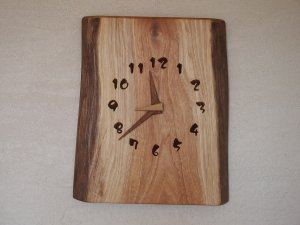 木の時計(2WAY型)胡桃-くるみ-