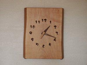 木の時計(2WAY型)楓-かえで-
