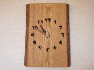 木の時計(2WAY型)栗