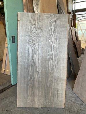 タモ 無垢二枚はぎ板 木裏づかい