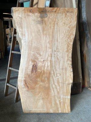 栃(トチ)一枚板!テーブル用の天板材