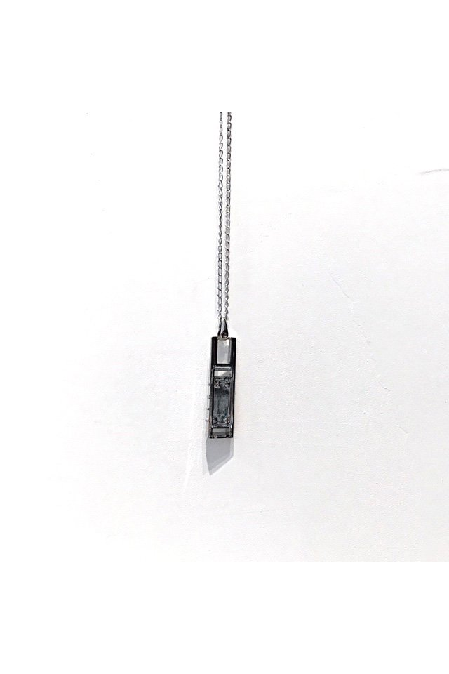 MUZE - MONOLITH NECKLACE (SILVER) 「ミューズ」[ネックレス]