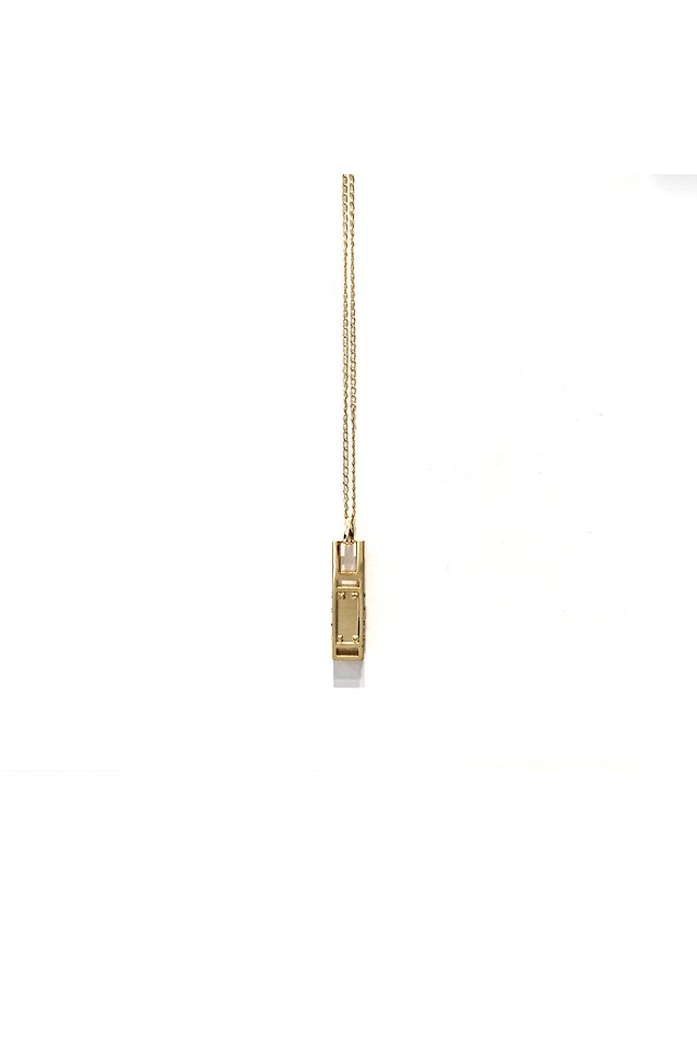 MUZE - MONOLITH NECKLACE (GOLD) 「ミューズ」[ネックレス]