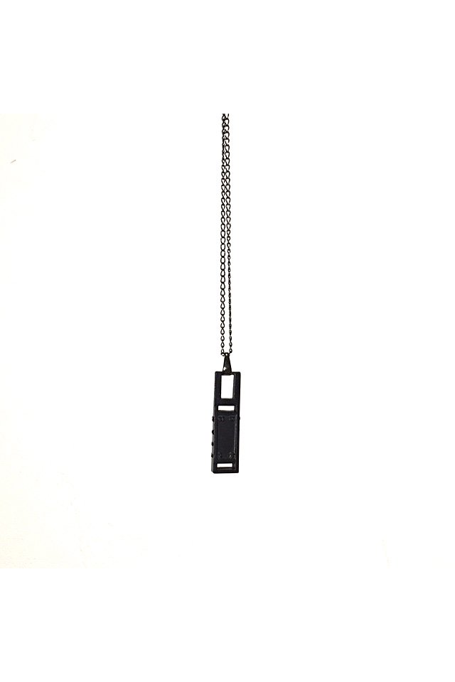 MUZE - MONOLITH NECKLACE (BLACK) 「ミューズ」[ネックレス]