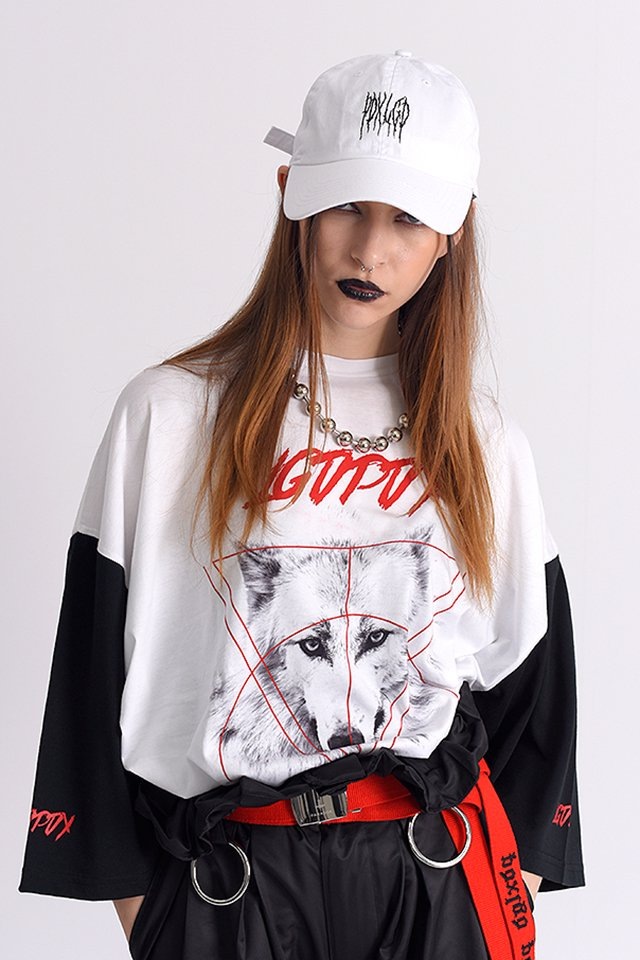 PARADOX×LEGENDA - WHITE WOLF WIDE TEE